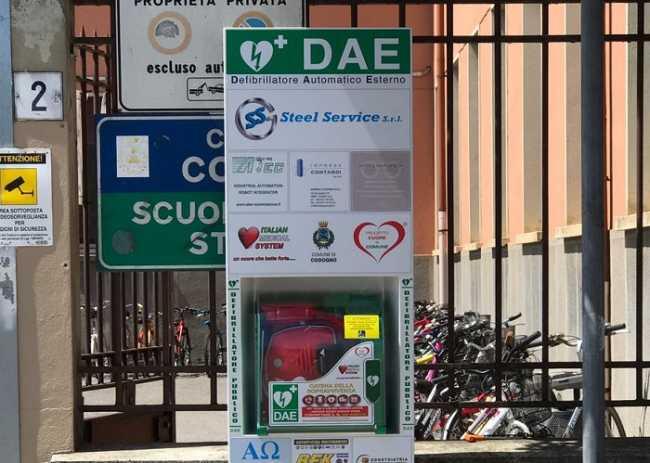 Totem Defibrillatore