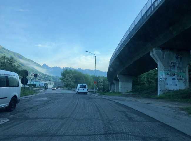 asfalto verta