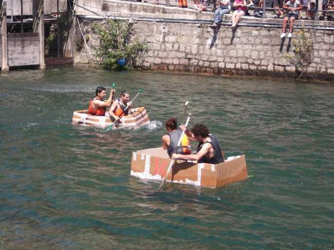 karton kayak presentazione