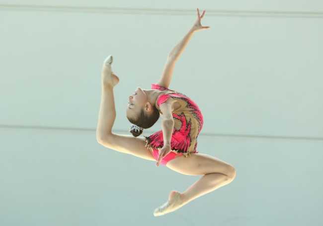 Francesca Frosio Cusio ginnastica